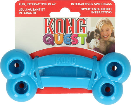 Kong quest bone, slidstærk og god til hvalpetænder