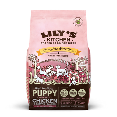 Lilys kitchen - Chicken & Salmon Dry Food til hvalpe