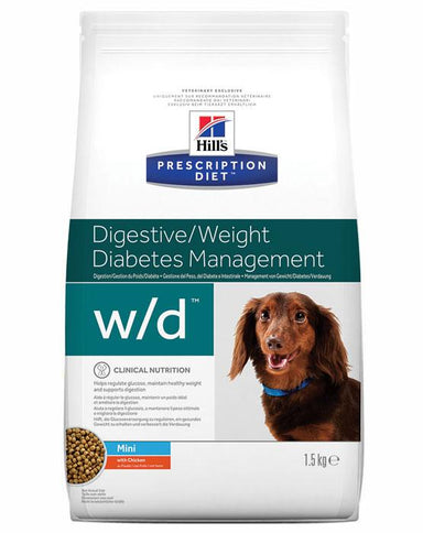 Prescription Diet Canine W/D™ Mini