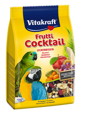 Papegøje Frutti Cocktail, Frugt Snack mix