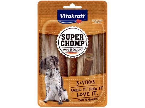 Vitakraft Super Chomp - Hundegodbid, super chomp 3 stk