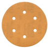 "6"" GoldStar Hook & Loop Sanding Discs"