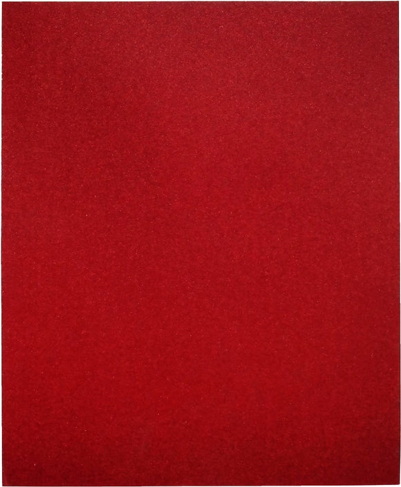 Red Heavy Duty Sandpaper Sheets