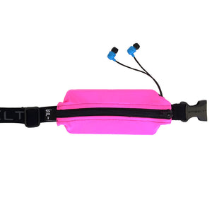 Spibelt Flex great for the gym with headphones Pink