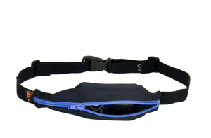 Spibelt Diabetic belt for insulin pump Black with blue zip