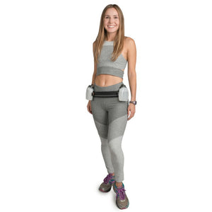 Spibelt Venture Running Belt with Bottles girl
