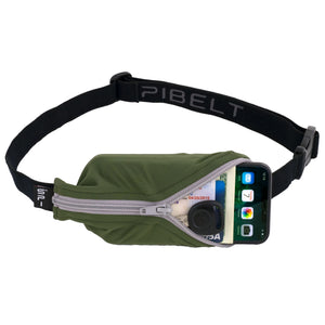 Spibelt Large Pocket Olive with grey zip