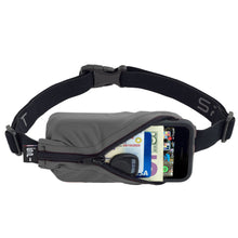 Load image into Gallery viewer, Spibelt Energy Running Belt with 6 Energy Gel loops Anthracite