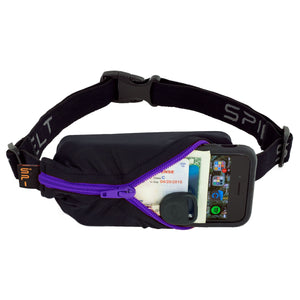 Spibelt Original Black with Purple Zip
