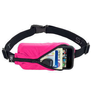 Spibelt Energy Running Belt with 6 Energy Gel loops Pink