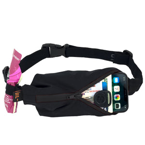 Spibelt Performance Running Belt Black Zip