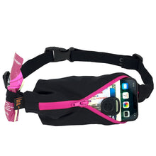 Load image into Gallery viewer, Spibelt Performance Running Belt Pink Zip