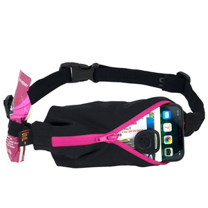 Spibelt Performance Running Belt Pink Zip