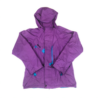 Sprayway goretex jacket 1990s purple/blue