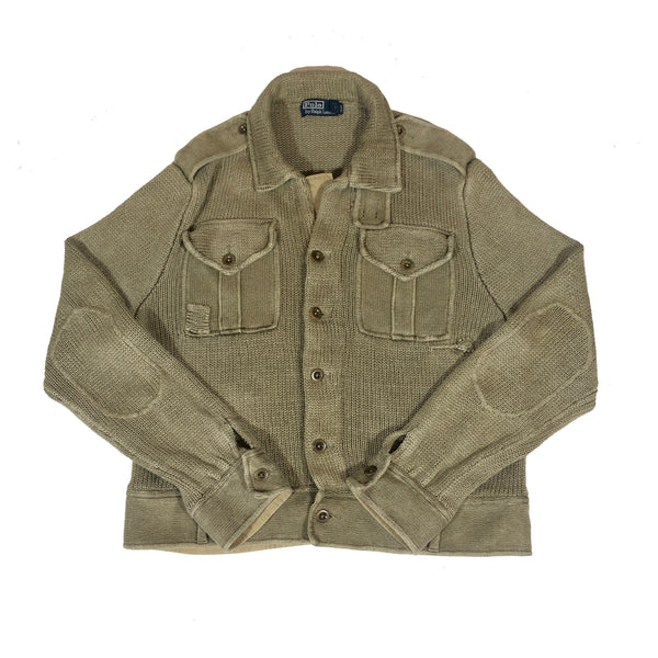 Ralph Lauren knitted overshirt