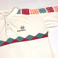 Sergio Tachinni patter polo shirt 1980s