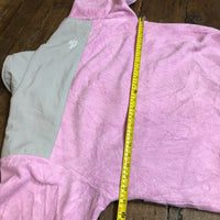 The North Face Denali fleece pink and grey