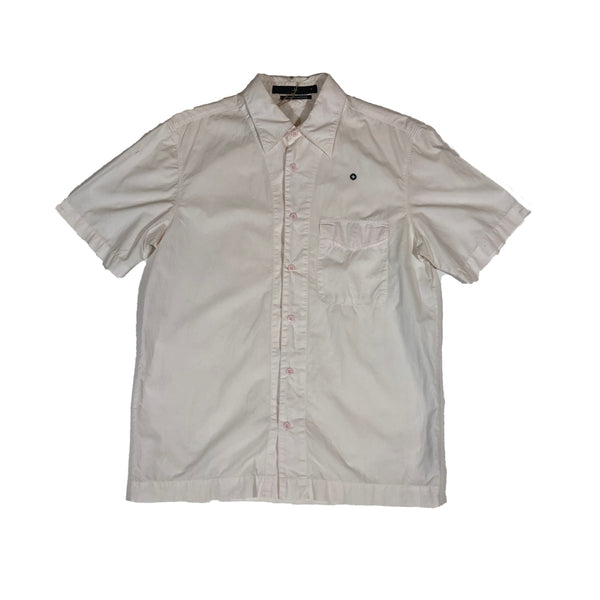 Stone Island short sleeve summer shirt in light pink