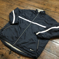 Nike jacket circa 1990's with red swoosh label