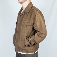 CP Company brown trucker jacket
