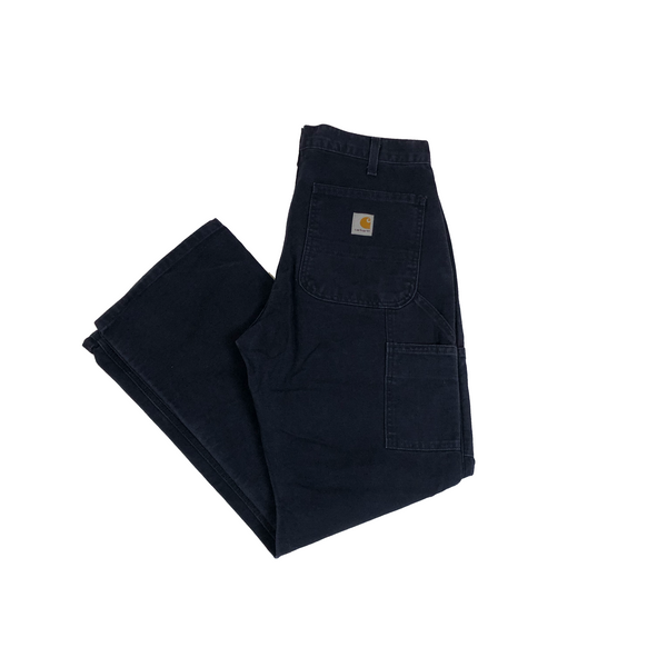 Carhartt washed twill dungaree navy