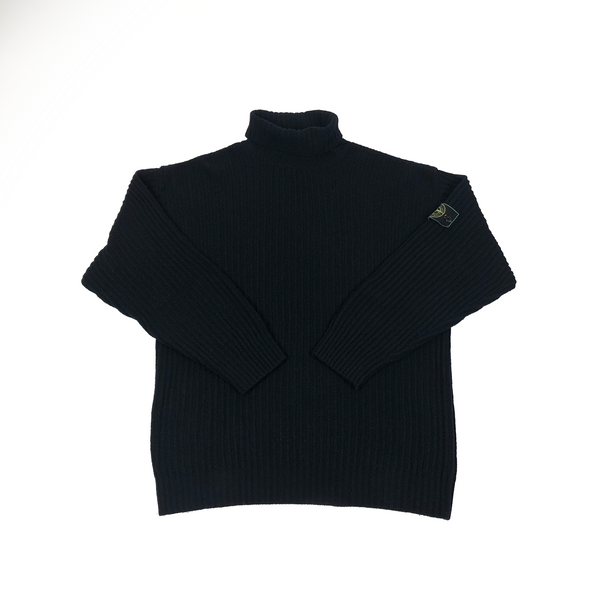 Stone Island 93/94 gruppo label roll neck knitted jumper