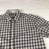 Lacoste checked short sleeve shirt