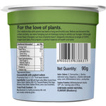 Coconut Milk Yogurt, 90 gm - Pack of 6 - Mango,  Blueberry & Unsweetened