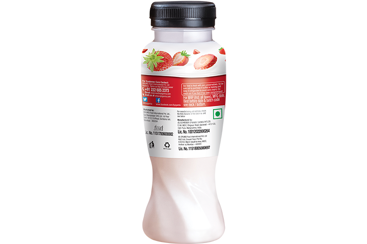 Greek Yogurt Smoothie, Strawberry - 200 ml