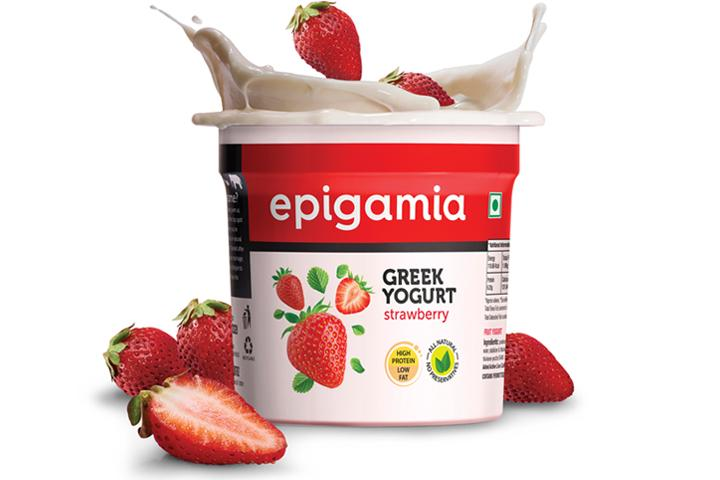 Greek Yogurt, Strawberry - 90 gm