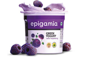 Greek Yogurt, Wild Raspberry - 90 gm