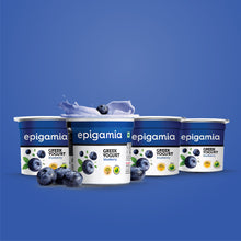 Load image into Gallery viewer, Blueberry Greek Yogurt - 90 gm (Pack of 4)