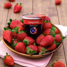 Load image into Gallery viewer, Epigamia Greek Yogurt - No Added Sugar, Strawberry - 120 gm