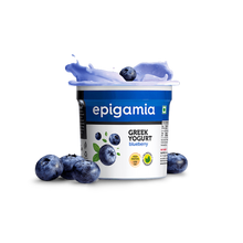 Load image into Gallery viewer, Greek Yogurt, Blueberry (₹5 OFF) - 90gm