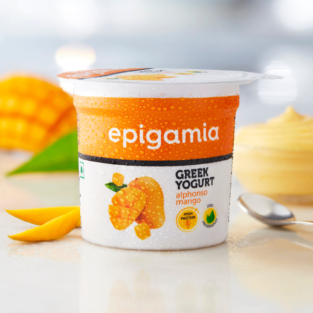 Greek Yogurt, Mango (₹5 OFF) - 90gm