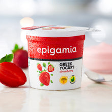Load image into Gallery viewer, Greek Yogurt, Strawberry - 90 gm