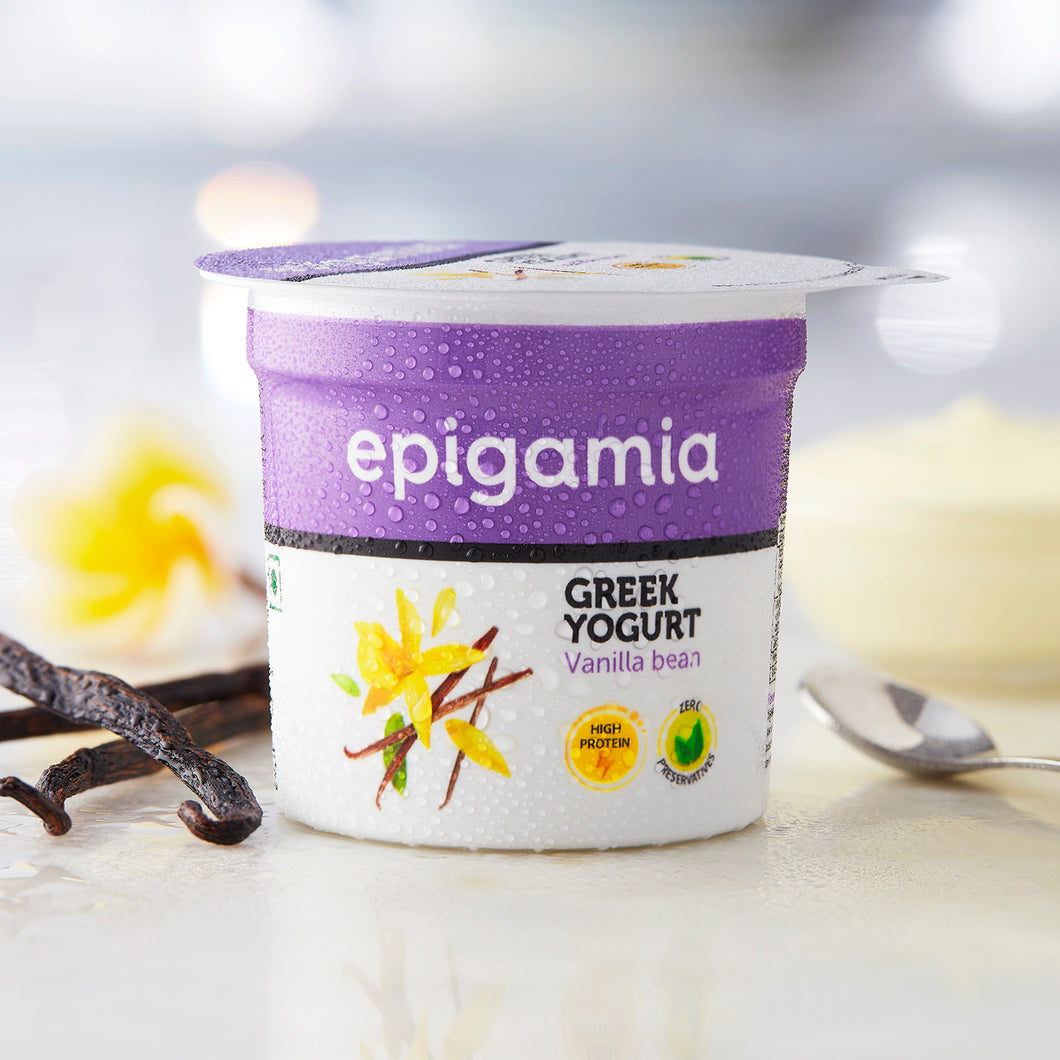 Greek Yogurt, Vanilla Bean (₹5 OFF) - 90gm
