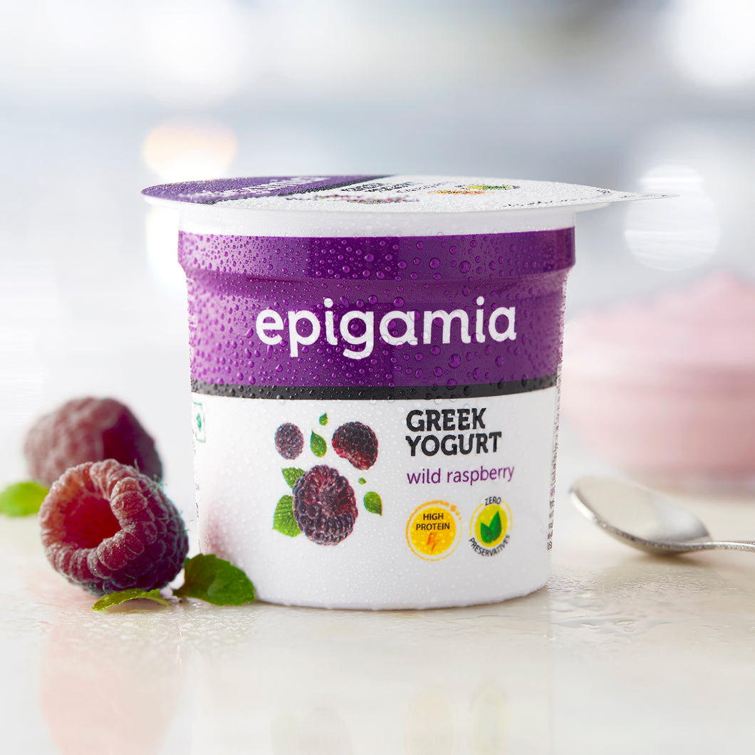 Greek Yogurt, Wild Raspberry (₹5 OFF) - 90gm