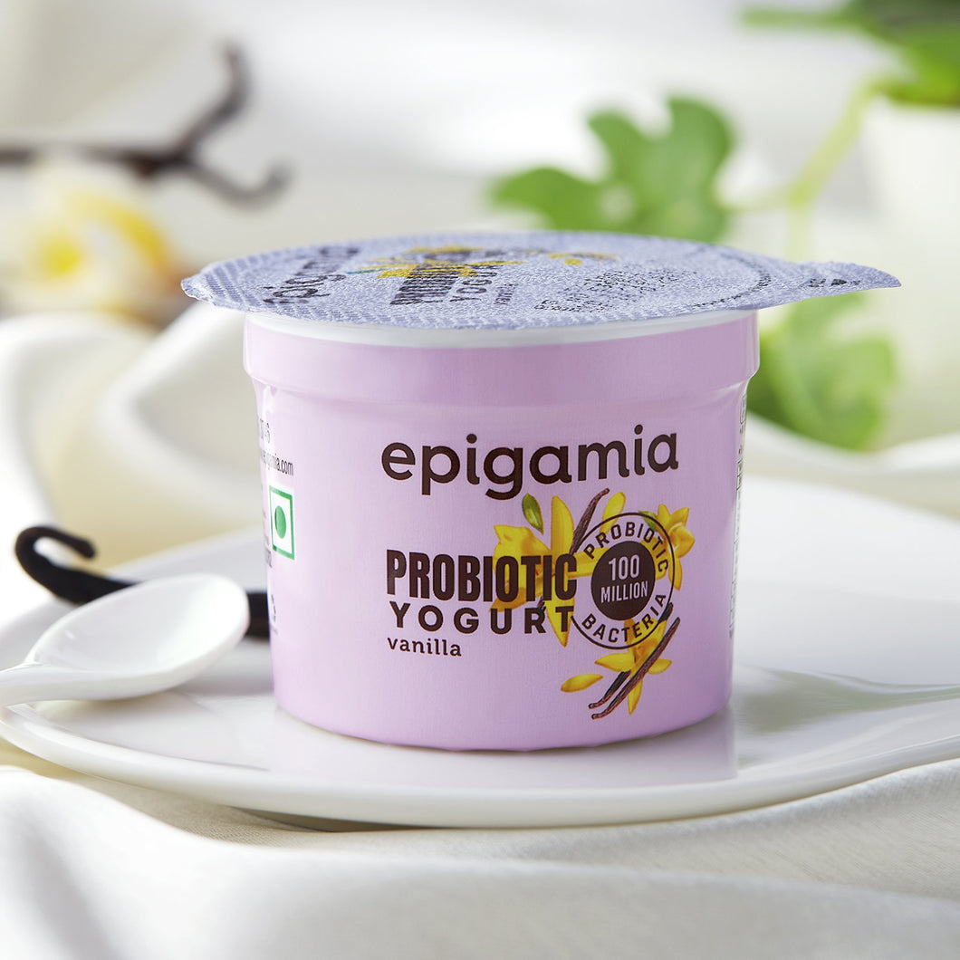 vanilla probiotic yogurt - 75 gm