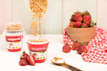 Epigamia Snack Pack - Strawberry Greek Yogurt with Chunky Granola