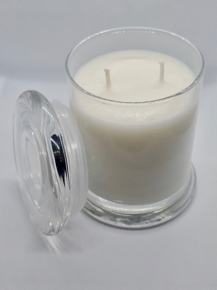 Apples & Maple Bourbon Natural Soy Glass Candle