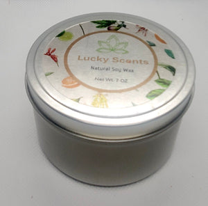 Cranberry Apple Marmalade Natural Soy Tin Candle