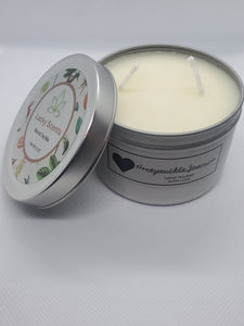 Honeysuckle Jasmine Natural Soy Tin Candle