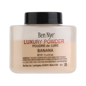 Trendy Products Luxury Banana Powder Bottle Face Makeup Powders Women Lady Facial Contour Brighten Setting Powder