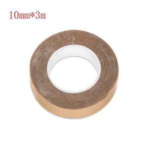 3.0 Metre/ Roll Lace Glue Double Side Glue Tape Sticky adhesives Tape for Hair Extension Tape Skin Wef Hair Extensions Tool
