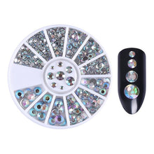 Load image into Gallery viewer, Mixed Color Nail Rhinestones Stones AB Color Rhinestone Irregular Beads Manicure For Nails Art Decorations Crystals Accessories