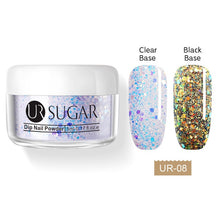 Load image into Gallery viewer, UR SUGAR 5/30ML Chameleon Dips Powders No Lamp Cure Holographic Glitter Gradient French Natural Dry Nail Art Manicure