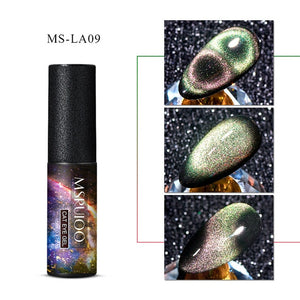 MSRUIOO 9D  Galaxy Cat Eye Gel Polish Chameleon Magnetic Soak Off UV/LED Nail Varnish Semi Permanent Manicure Gel Lacquer 5ml