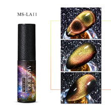 Load image into Gallery viewer, MSRUIOO 9D  Galaxy Cat Eye Gel Polish Chameleon Magnetic Soak Off UV/LED Nail Varnish Semi Permanent Manicure Gel Lacquer 5ml