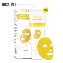 Load image into Gallery viewer, ROSALIND  Mask For The Face 24K Gold Collagen Blackhead Remover Anti-Aging Shrink Pore Acne Scar Skin Care Cosmetic Face Masks